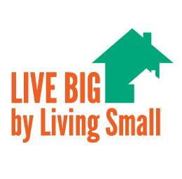 Live Big by Living Small logo